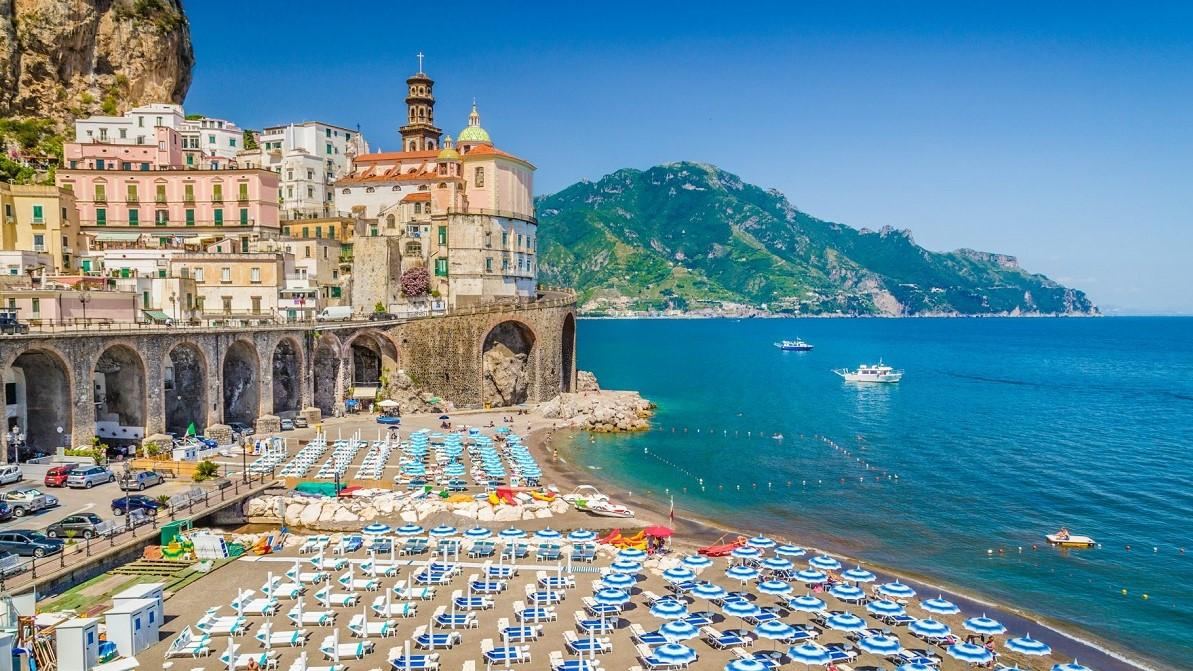 Thành phố Amafi miền Nam nước Ý
