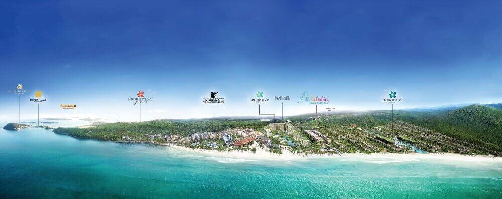 Quần thể nghỉ dưỡng 5* tỷ đô của Sun Group tại Nam Phú Quốc