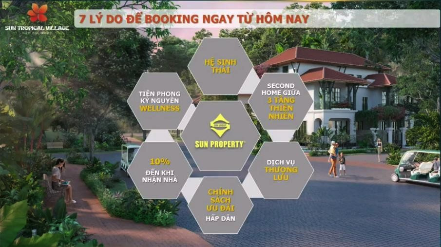 Lý do để booking ngay Sun Tropical village Nam Phú Quốc từ hôm nay!