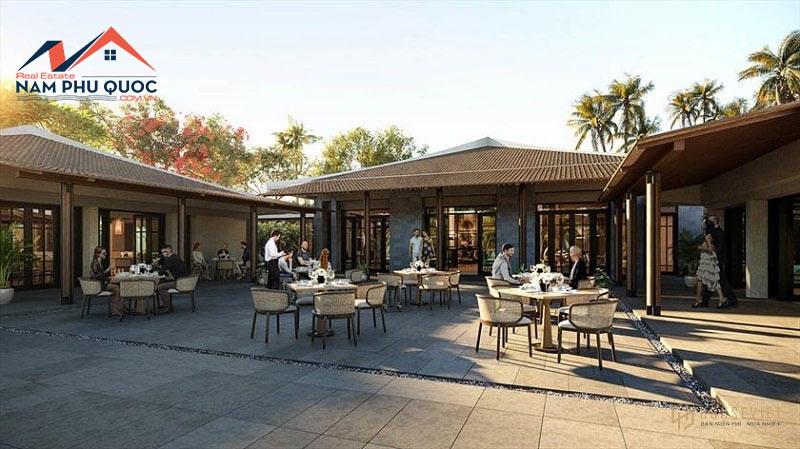Dự án biệt thự Park Hyatt Phú Quốc nổi bật với khu ẩm thực ưu Việt