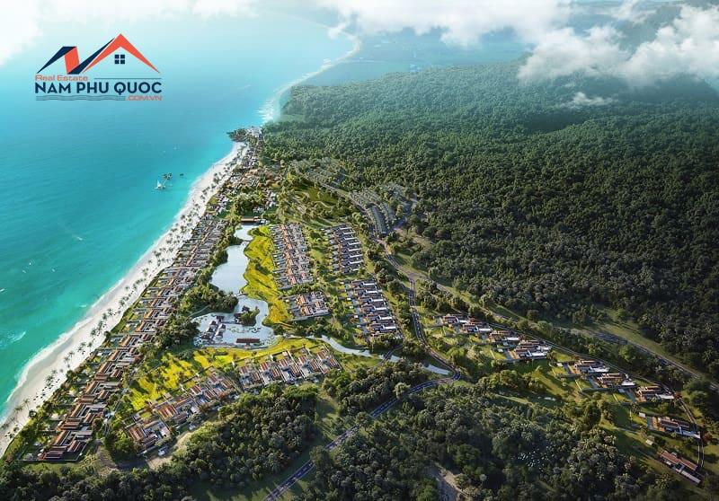 Dự án biệt thự Park Hyatt Phú Quốc sở hữu vị trí phong thủy độc tôn