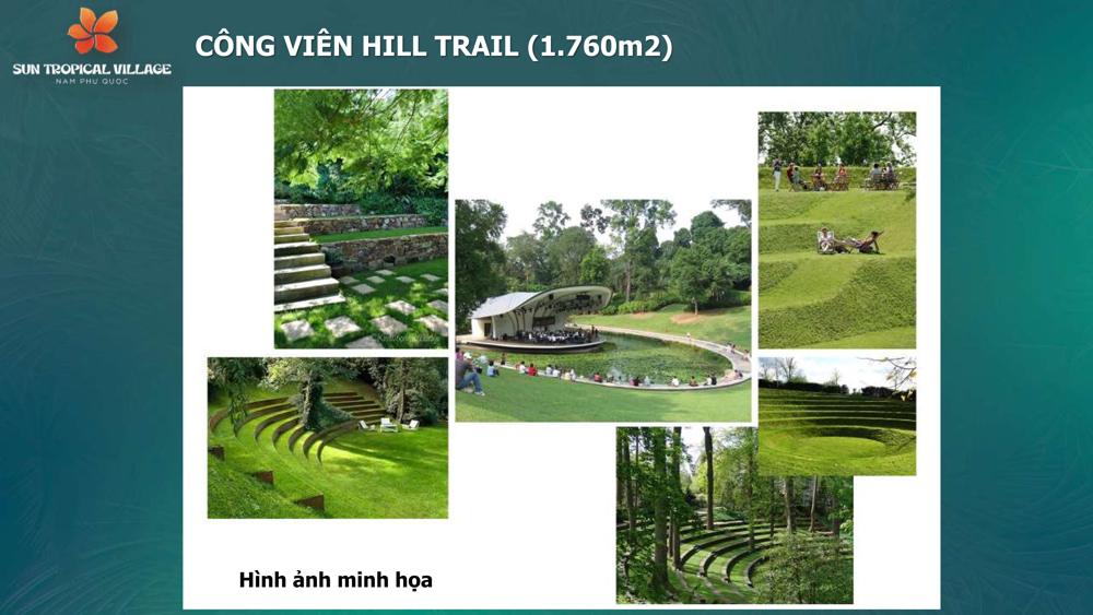 Tiện ích công viên Sun Tropical Village Phú Quốc