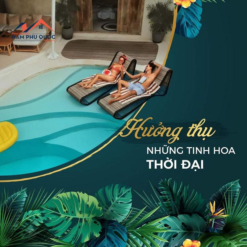 Biệt thự nhiệt đới Bãi Kem Phú Quốc mang đến không gian nghỉ dưỡng chuẩn tinh hoa thời đại
