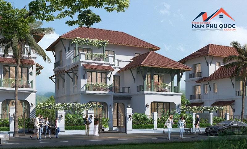 Mẫu biệt thự đơn lập xây dựng trong dự án Wellness Second Home làng nhiệt đới Bãi Kem